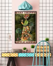 Mushroom Stay Trippy PDN-pml  11x17 Poster lifestyle-poster-6