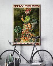 Mushroom Stay Trippy PDN-pml  11x17 Poster lifestyle-poster-7