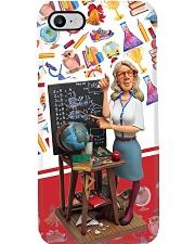 Teacher Statue PC Phone Case i-phone-8-case
