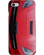 Chevro c7 red pc dvhh-nth Phone Case i-phone-8-case