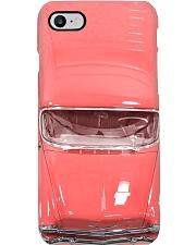 Car Chev 1956 Bel Air pink PDN- ntv  Phone Case i-phone-8-case