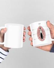 vulva anatomy gynecology mug dvhh ngt Mug ceramic-mug-lifestyle-44