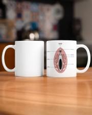 vulva anatomy gynecology mug dvhh ngt Mug ceramic-mug-lifestyle-51