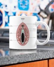 vulva anatomy gynecology mug dvhh ngt Mug ceramic-mug-lifestyle-53
