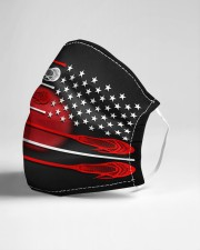 lacrosse under america flag mas Cloth Face Mask - 3 Pack aos-face-mask-lifestyle-21
