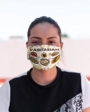 Vegan Vegiatarian mas Cloth Face Mask - 3 Pack aos-face-mask-lifestyle-03