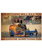 Drag Racing Choose ST Fun2 36x24 Poster front