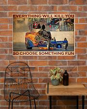 Drag Racing Choose ST Fun2 36x24 Poster poster-landscape-36x24-lifestyle-20