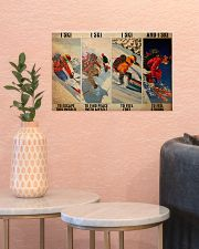 Skiing To Feel  PDN-dqh 17x11 Poster poster-landscape-17x11-lifestyle-21