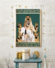 Crazy German Shepherd july 11x17 Poster lifestyle-holiday-poster-3