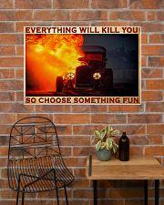 Drag Racing Choose ST Fun 11 PDN-pml  36x24 Poster poster-landscape-36x24-lifestyle-20