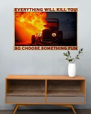 Drag Racing Choose ST Fun 11 PDN-pml  36x24 Poster poster-landscape-36x24-lifestyle-21