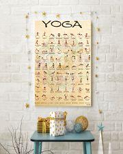 Yoga Asanas TN PDN-DQH  11x17 Poster lifestyle-holiday-poster-3