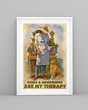 Gardening Dog Are My Therapy PDN nna 24x36 Poster lifestyle-poster-5