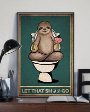 Yoga Let That GO 11x17 Poster lifestyle-poster-2