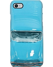Car Chev 1956 Bel Air blue PDN- ntv  Phone Case i-phone-8-case
