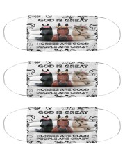 Horse is good Msk Cloth Face Mask - 3 Pack front