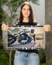 Motocycle Corner Happiness PDN-pml 17x11 Poster poster-landscape-17x11-lifestyle-19