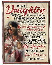 """Native To My Daughter FLB PDN nna  Large Fleece Blanket - 60"""" x 80"""" front"""