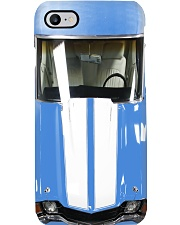 Car Chev 1972 Chevel SS Ascot Blue PDN-pml Phone Case i-phone-8-case