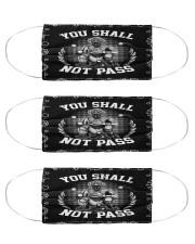 baseball Save Mas Cloth Face Mask - 3 Pack front