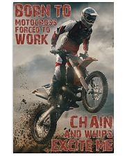 Motocross Born To Ride Motocross PDN-DQH  24x36 Poster front