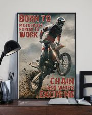 Motocross Born To Ride Motocross PDN-DQH  24x36 Poster lifestyle-poster-2