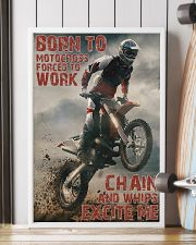 Motocross Born To Ride Motocross PDN-DQH  24x36 Poster lifestyle-poster-4