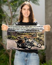 easy ride Motocycle On This Ride PDN-dqh 17x11 Poster poster-landscape-17x11-lifestyle-19