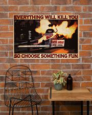 Drag Racing Choose ST Fun1 PDN-DQH  36x24 Poster poster-landscape-36x24-lifestyle-20