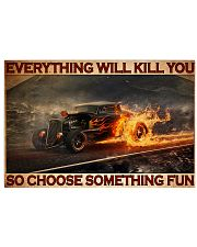 Drag Racing Choose ST Fun5 PDN-DQH 36x24 Poster front