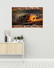 Drag Racing Choose ST Fun5 PDN-DQH 36x24 Poster poster-landscape-36x24-lifestyle-01