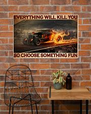 Drag Racing Choose ST Fun5 PDN-DQH 36x24 Poster poster-landscape-36x24-lifestyle-20