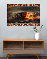 Drag Racing Choose ST Fun5 PDN-DQH 36x24 Poster poster-landscape-36x24-lifestyle-21
