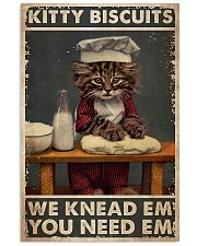 Cat Baking Kitty Biscuit 24x36 Poster front