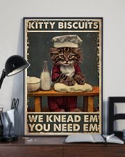 Cat Baking Kitty Biscuit 24x36 Poster lifestyle-poster-2