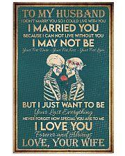 Skull family i love you forever 11x17 Poster front