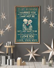 Skull family i love you forever 11x17 Poster lifestyle-holiday-poster-1
