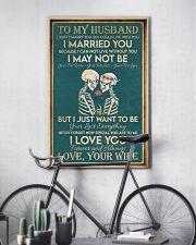 Skull family i love you forever 11x17 Poster lifestyle-poster-7