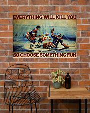 Hockey Choose ST Fun PDN-DQH  36x24 Poster poster-landscape-36x24-lifestyle-20