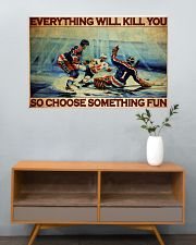 Hockey Choose ST Fun PDN-DQH  36x24 Poster poster-landscape-36x24-lifestyle-21