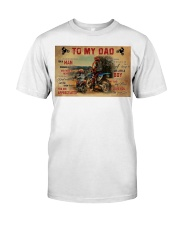 Motocross To My Dad PDN-dqh Premium Fit Mens Tee thumbnail