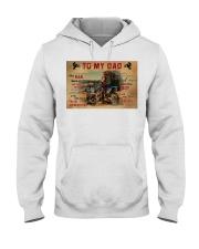 Motocross To My Dad PDN-dqh Hooded Sweatshirt thumbnail
