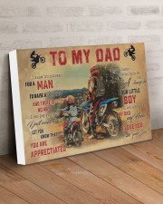 Motocross To My Dad PDN-dqh 24x16 Gallery Wrapped Canvas Prints aos-canvas-pgw-24x16-lifestyle-front-01