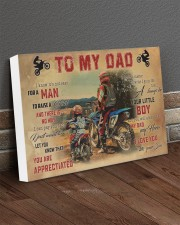 Motocross To My Dad PDN-dqh 24x16 Gallery Wrapped Canvas Prints aos-canvas-pgw-24x16-lifestyle-front-04