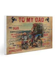 Motocross To My Dad PDN-dqh Gallery Wrapped Canvas Prints tile