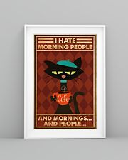 Cat Coffee I Hate Morning People PDN-ntv 24x36 Poster lifestyle-poster-5