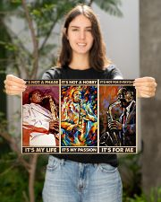 Saxophone Its For Me PDN-dqh 17x11 Poster poster-landscape-17x11-lifestyle-19