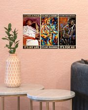 Saxophone Its For Me PDN-dqh 17x11 Poster poster-landscape-17x11-lifestyle-21