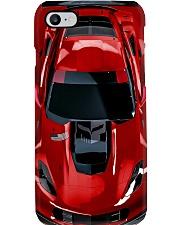 Car Chev C7 Corvet PDN Red nna Phone Case i-phone-8-case